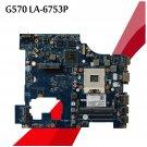 For Lenovo G570 LA-6753P HM65 Motherboard PIWG2 VRAM S989 DDR3 Mainboard-c