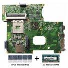 For Asus K42JR rev 4.0 Motherboard 60-N1FMB1000-C15 DDR3 PGA989 HM55 with gifts