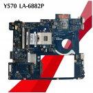 LA-6882P For Lenovo Y570 Motherboard PIQY1 REV:2.0 DDR3 HM65 GT555M Mainboard-c