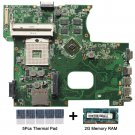 For Asus K42JC rev.2.2 Motherboard with thermal Pad and 2GB DDR3 memory RAM