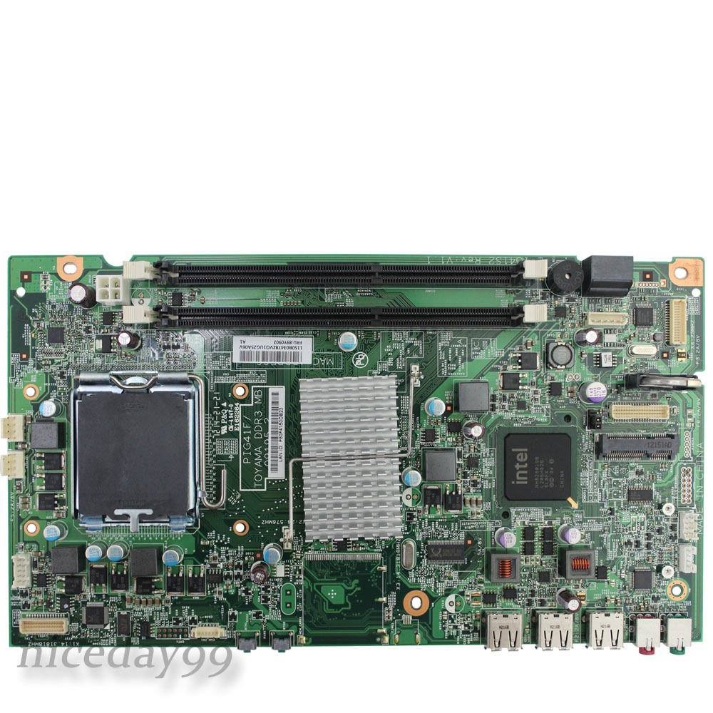 Lenovo ThinkCentre A70Z Motherboard 89Y0902 PIG41F/TOYAMA DDR3