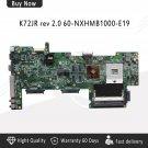 For Asus K72JR K72JK K72JT REV:2.0 8 Graphics Laptop Motherboard Free Shipping-c