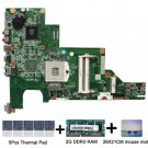 For HP 430 630 631 CQ43 CQ57 646669-001 HM55 DDR3 PGA989 Motherboard with gift