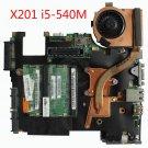 63Y2064 For Lenovo Thinkpad X201 48.4CV13.031 Intel i5-540M Laptop Motherboard