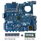 For Asus PBL50 LA-7321P motherboard E450 CPU with thermal Pad and 2GB DDR3 RAM