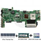 For Asus K72JT rev.2.0 motherboard HM55 with thermal Pad and mouse mat 2GB RAM
