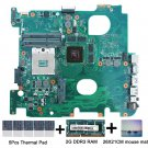 For Asus N43JQ REV.2.0 Motherboard HM55 with thermal Pad and mouse mat 2GB RAM