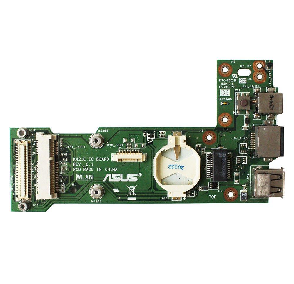 For Asus K42JC REV.2.1 DC Brand Power IO Board fit K42JC K42JA K42JP K42JV K42JZ