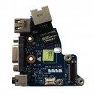 For Dell Latitude E6430 Audio USB Ethernet VGA board QAL81 LS-7782P REV:1.0 -c