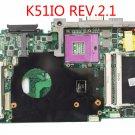 "K51IO REV.2.1 motherboard for Asus K66IC K51IC 60-NXWMB1000-A04 PGA478MN 15.6"""