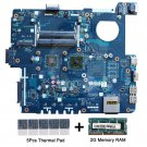 Asus PBL60 LA-7322P AMD C-50 CPU Motherboard with thermal Pad and 2GB DDR3 RAM-c