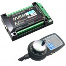 NVEM 6 Axis CNC Controller MACH3 Ethernet Interface Board Card+NVMPG handwheel