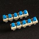 15PCS 6 Pin Square 7mmx7mm New Product DPDT Mini Push Button Self-locking Switch