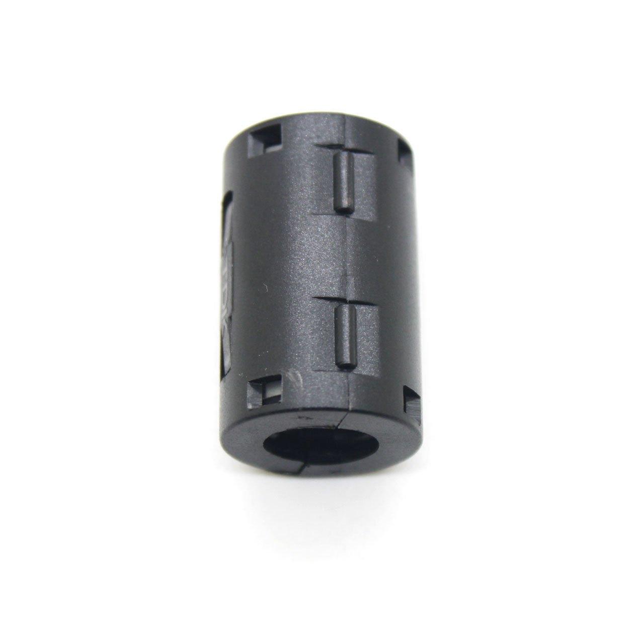 5pcs TDK black Φ11mm Cable Clamp Clip Noise Filters Ferrite Core Case