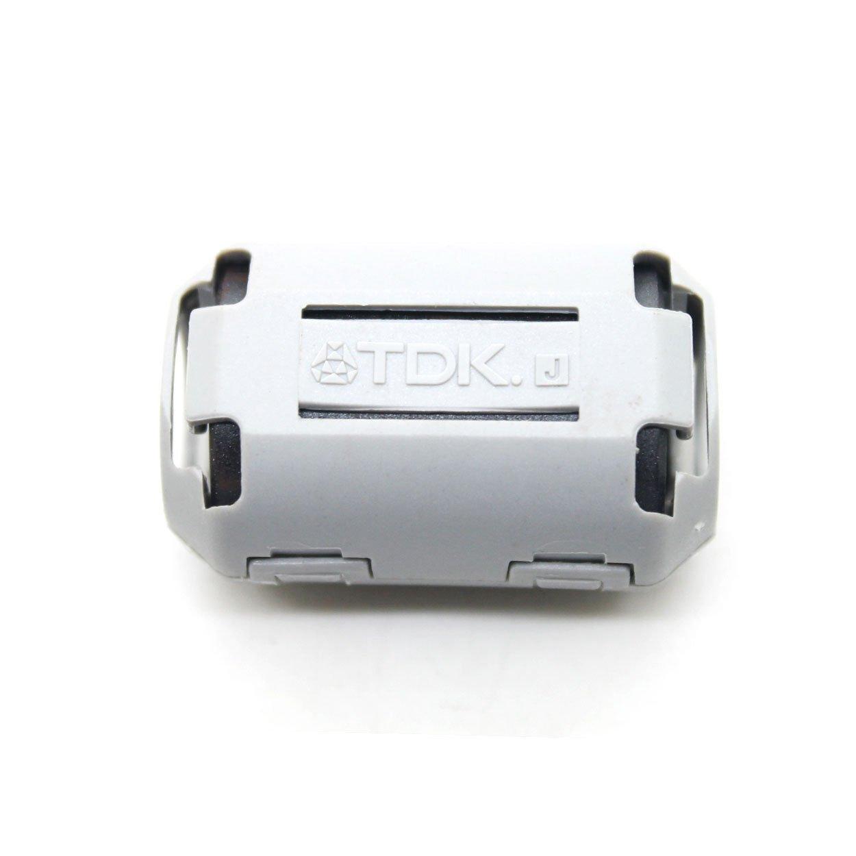5pcs TDK Φ5mm Cable Clamp Clip Noise Filters Ferrite Core Case