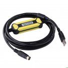 Programming cable FX-USB-AW for Mitsubishi Flex CABL Ribbon FX3UC USB/RS422