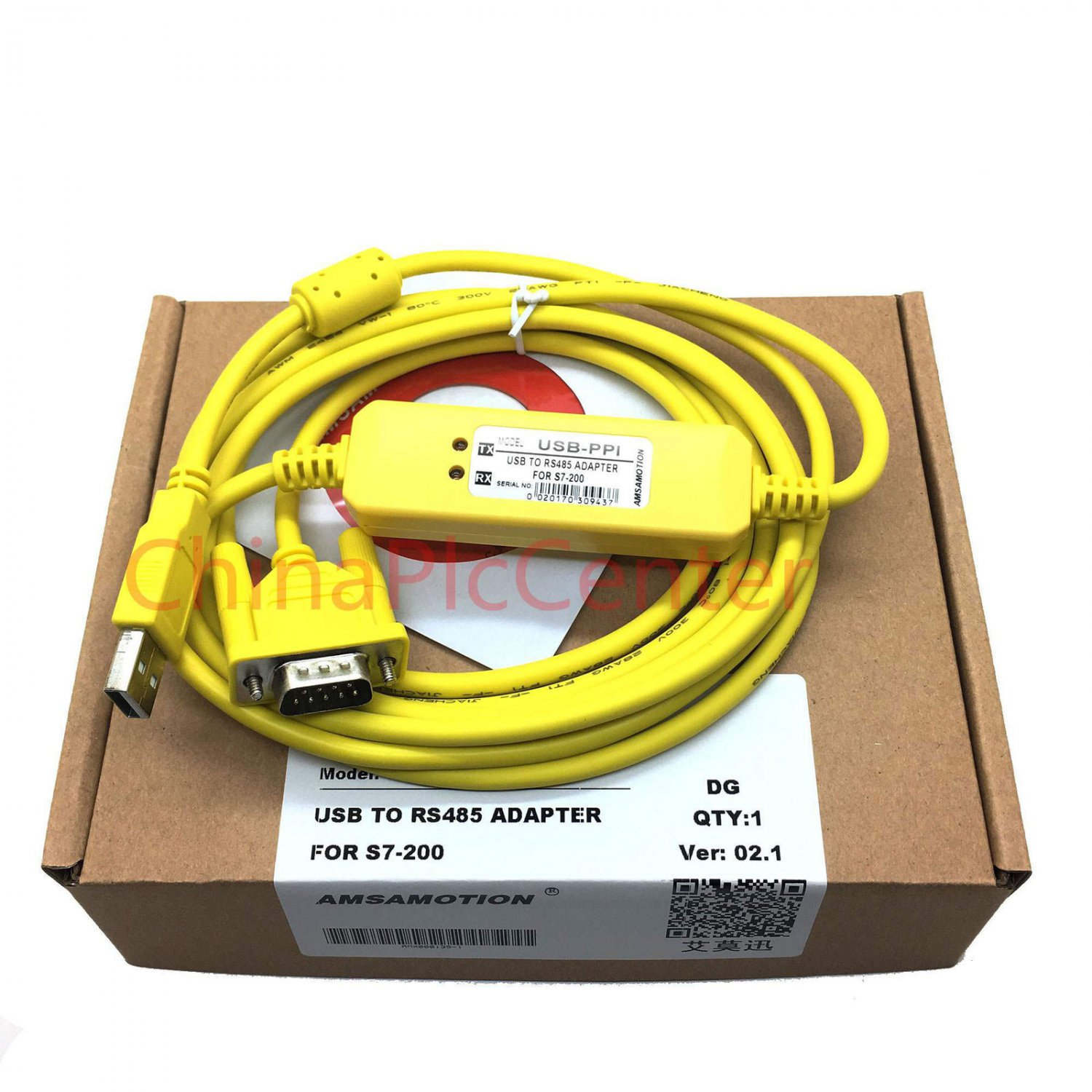 USB-PPI siemens plc Programmer Cable USB to RS485 ADAPTER for Siemens S7-200 PLC