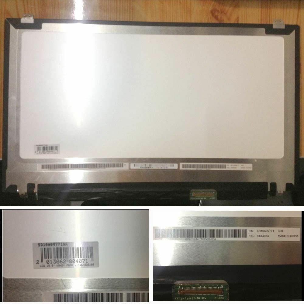 """15.6"""" 3K LCD Screen For Lenovo thinkpad T540P T550 W550s W540 W541 QHD+ IPS"""