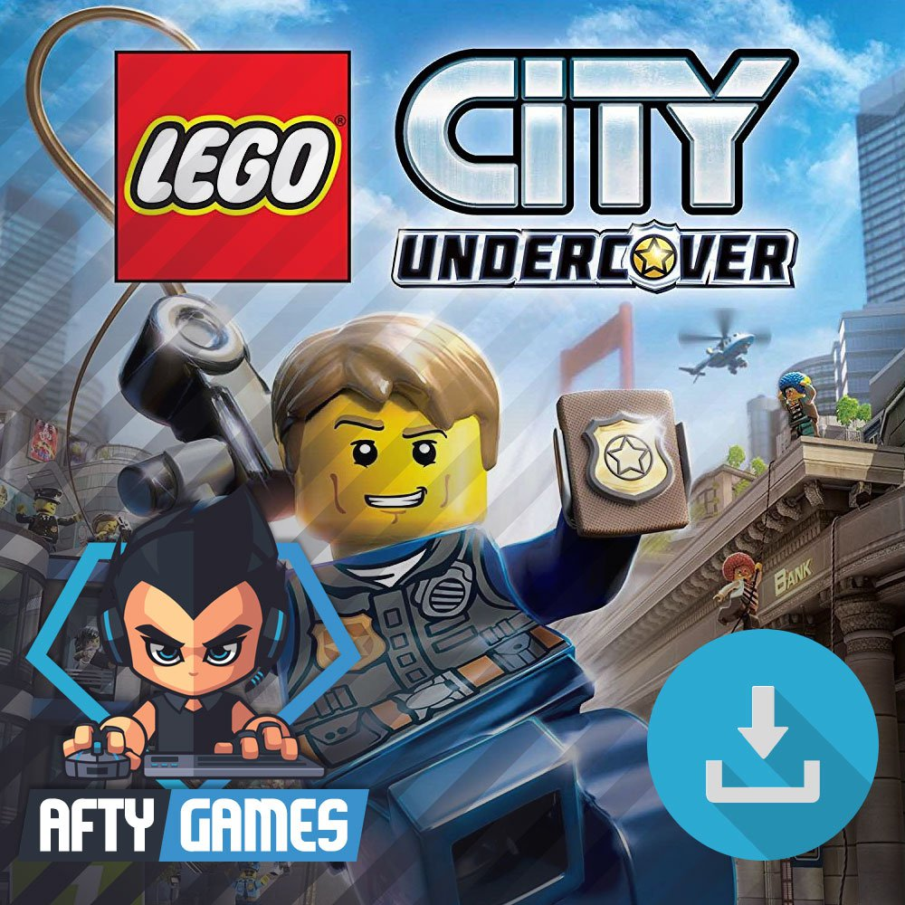 LEGO City Undercover - PC Game - Steam Download Code - Global CD Key