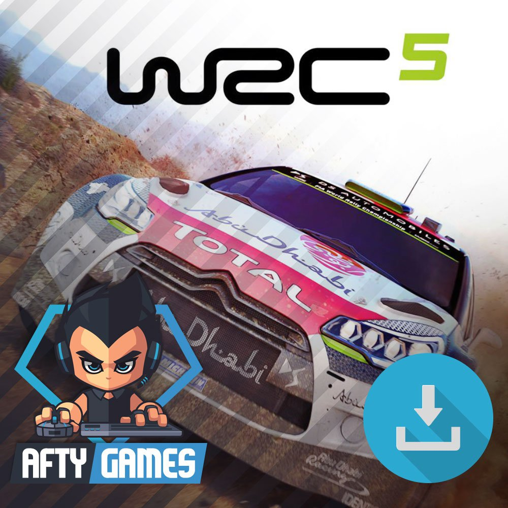 WRC 5 FIA World Rally Championship - PC Game - Steam Download Code - Global CD Key