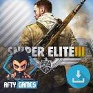 Sniper Elite III (3) Afrika - PC Game - Steam Download Code - Global CD Key