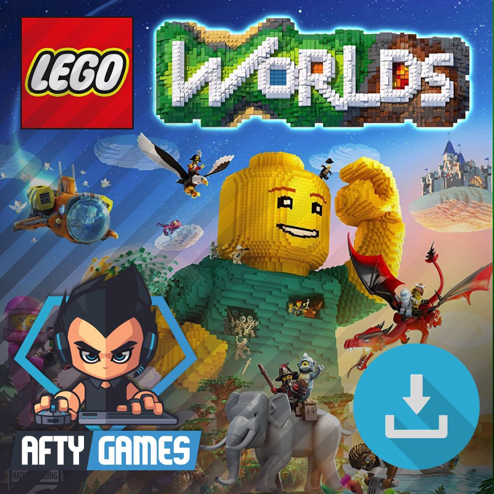 LEGO Worlds - PC Game - Steam Download Code - Global CD Key