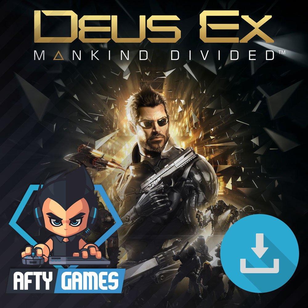 Deus Ex Mankind Divided - PC Game - Steam Download Code - Global CD Key