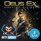 Deus Ex Mankind Divided - PC Game - Steam Download Code - Global CD Key