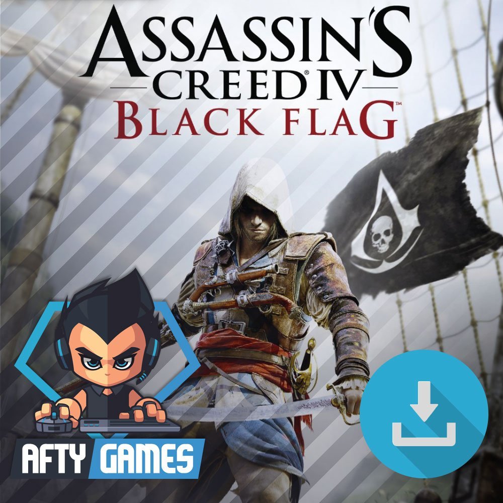 Assassin's Creed IV Black Flag - PC Game - Uplay Download Code - Global CD Key