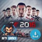 F1 2016 - PC Game - Steam Download Code - Global CD Key - Formula 1