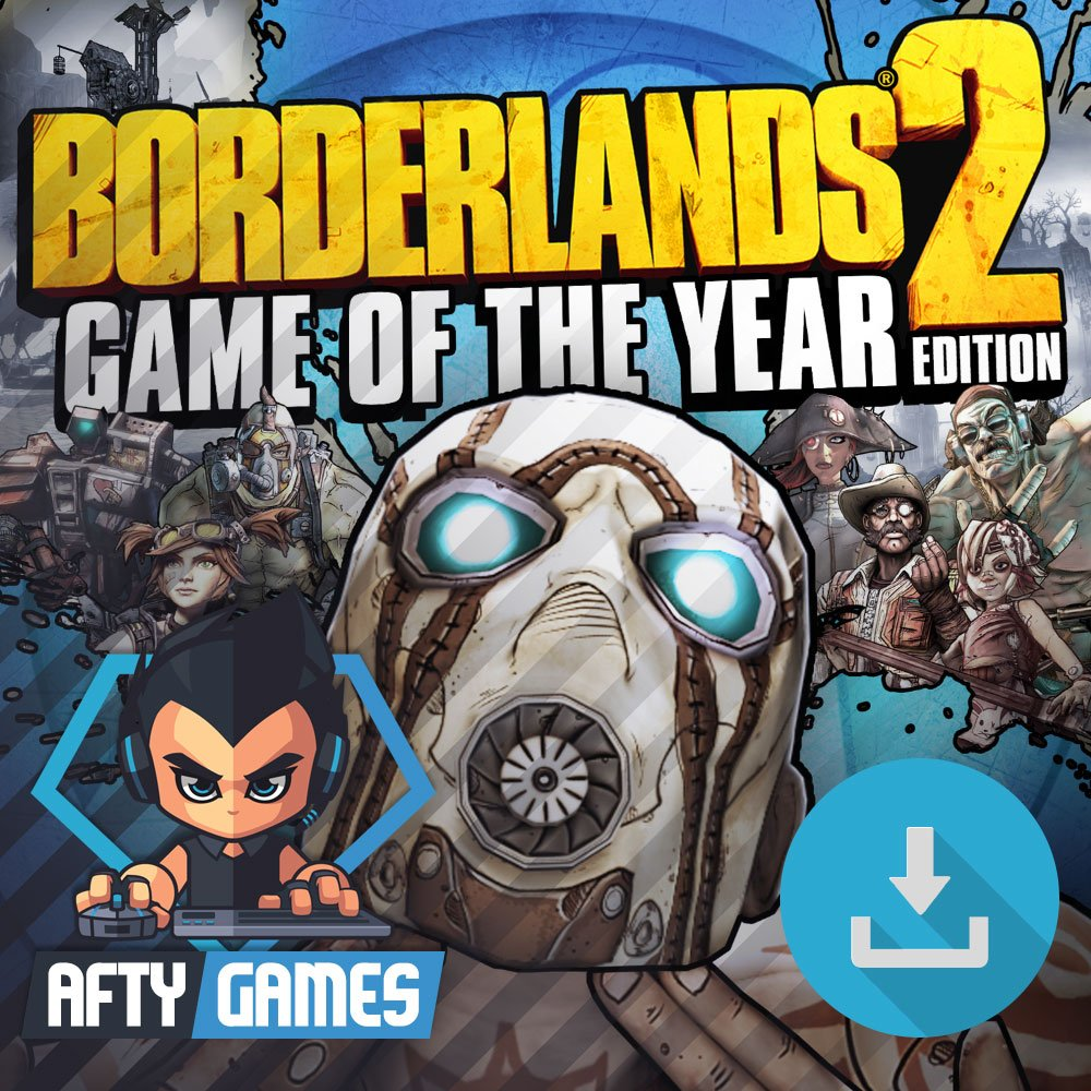 Borderlands 2 Game of the Year (GOTY Edition) - PC Game - Steam Download Code - Global CD Key