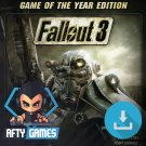 Fallout 3 Game of the Year Edition (GOTY) - PC Game - Steam Download Code - Global CD Key