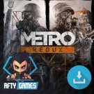 Metro Redux Bundle - PC & MAC Game - Steam Download Code - Global CD Key