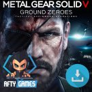 Metal Gear Solid V Ground Zeroes - PC Game - Steam Download Code - Global CD Key