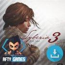 Syberia 3 - PC & MAC Game - Steam Download Code - Global CD Key