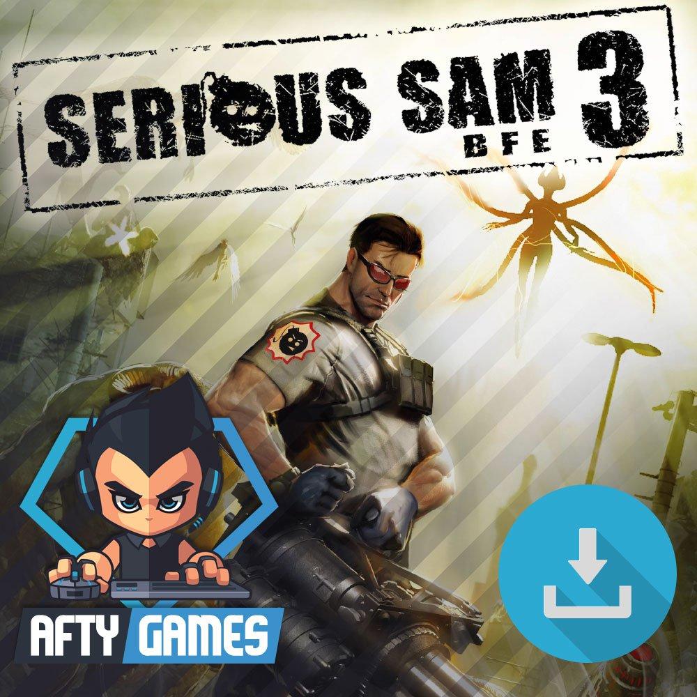 Serious Sam 3 BFE - PC & MAC Game - Steam Download Code - Global CD Key