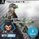 Tom Clancy's Splinter Cell Blacklist - PC Game - Uplay Download Code - Global CD Key