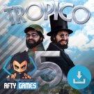 Tropico 5 - PC & MAC Game - Steam Download Code - Global CD Key