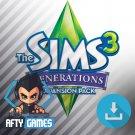 The Sims 3 Generations Expansion / DLC - PC & MAC Game - Origin Download Code - Global CD Key