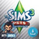 The Sims 3 Pets Expansion / DLC - PC & MAC Game - Origin Download Code - Global CD Key