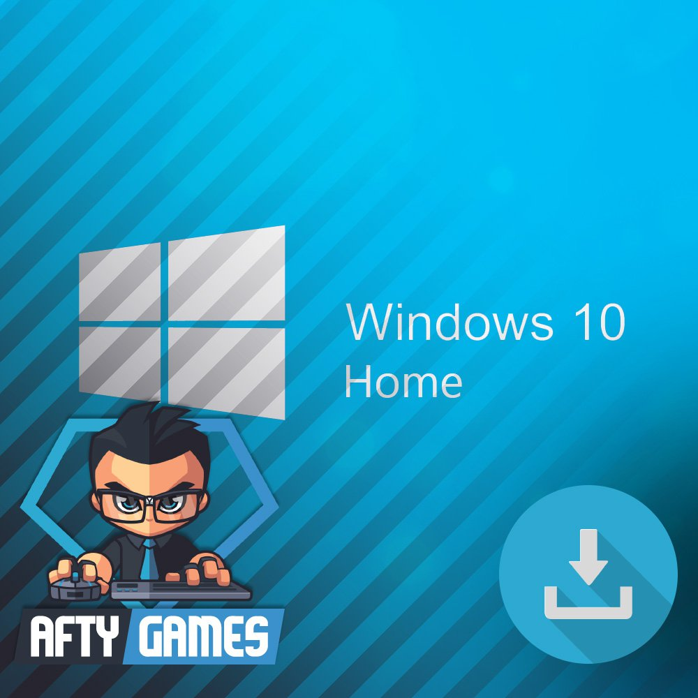 Microsoft Windows 10 Home - OEM - 32 & 64 bit [Digital License Code / Key]