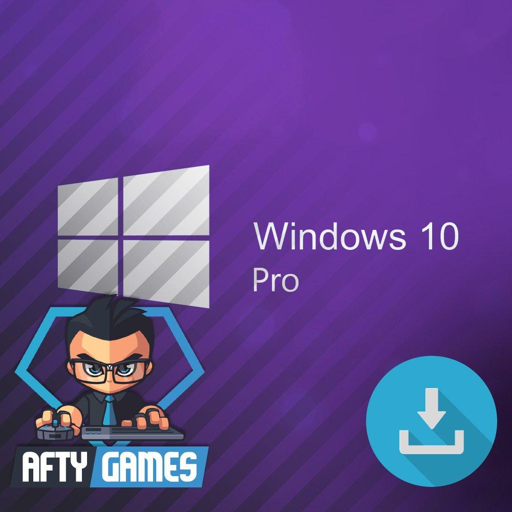 Microsoft Windows 10 Professional (Pro) - OEM - 32 & 64 bit [Digital License Code / Key]