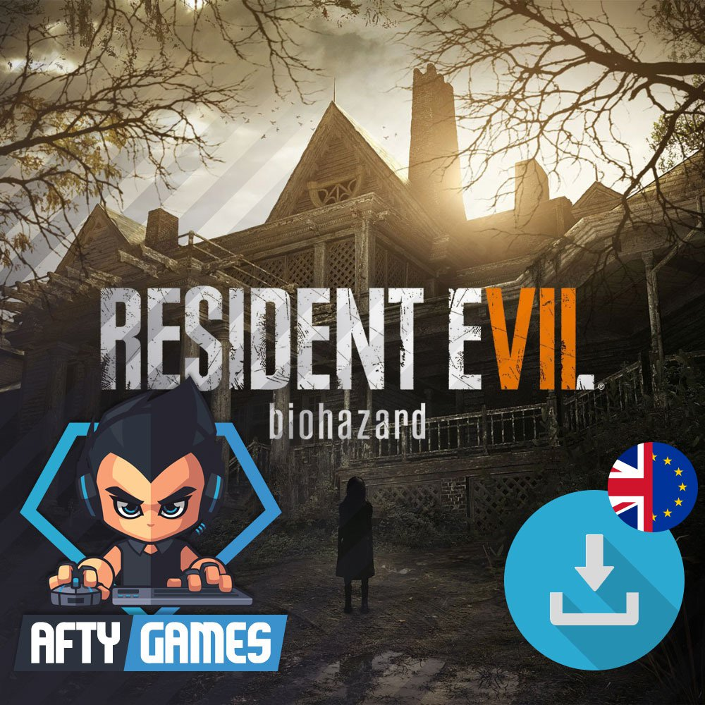 Resident Evil 7 Biohazard [UK & EU] - PC Game - Steam Download Code - CD Key