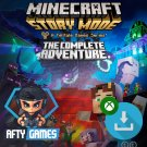 Minecraft Story Mode Complete Adventure - XBOX ONE - Digital Download Code - Global CD Key