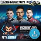 F1 2018 - PC Game - Steam Download Code - Global CD Key - Formula 1