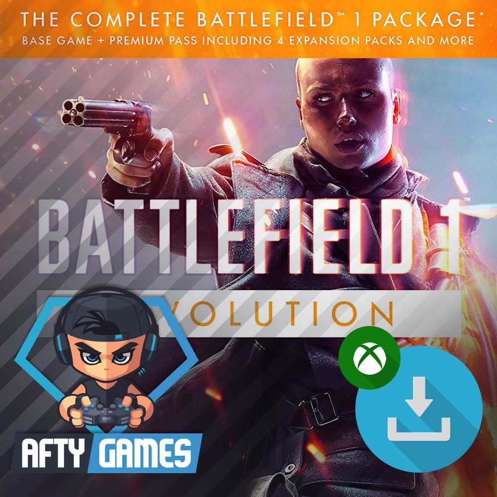 Battlefield 1 Revolution - XBOX ONE - Digital Download Code - Global CD Key