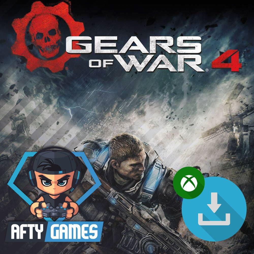 Gears of War 4 - XBOX ONE - Digital Download Code - Global CD Key
