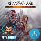 Middle-Earth Shadow of War Definitive Edition - PC Game - Steam Download Code - Global CD Key