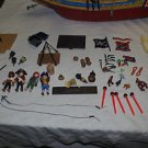 Retired Playmobil 4290 Pirate ship very nearly complete. VGC. HTF