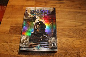 Railroad Tycoon 3 PC CD game. 2003. Pop Top Software. Simulation play.